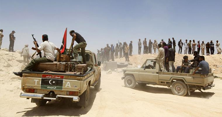 Американская демократия, Ливия