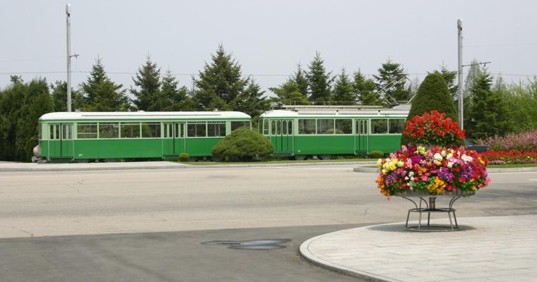 Трамвай, Пхеньян, Северная Корея