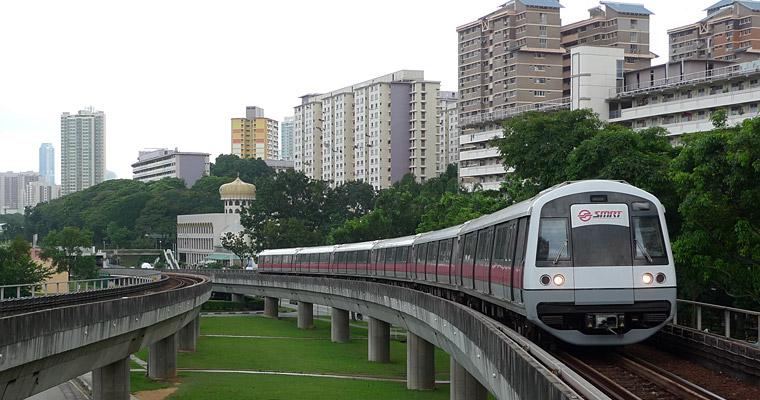 Метро в Сингапуре