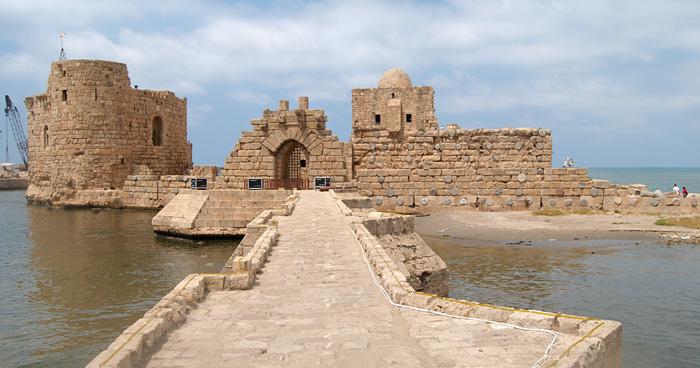 Город Омейядов, Ливан