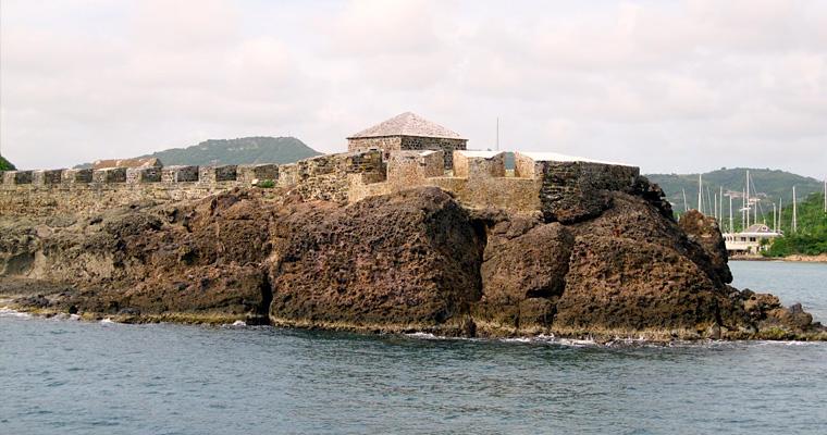 Форт Беркли в Антигуа и Барбуда
