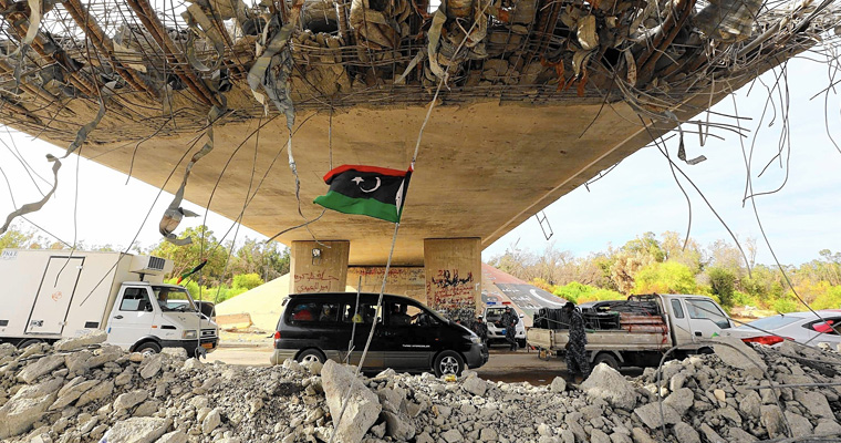 Мирное небо в Триполи (2014 г.), Ливия