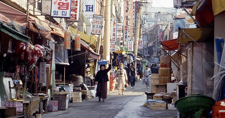 Улица Сеула, Южная Корея