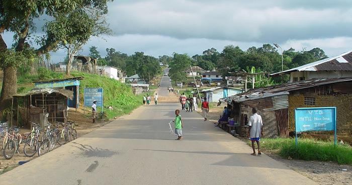 Рынок в Тубманбурге, Либерия