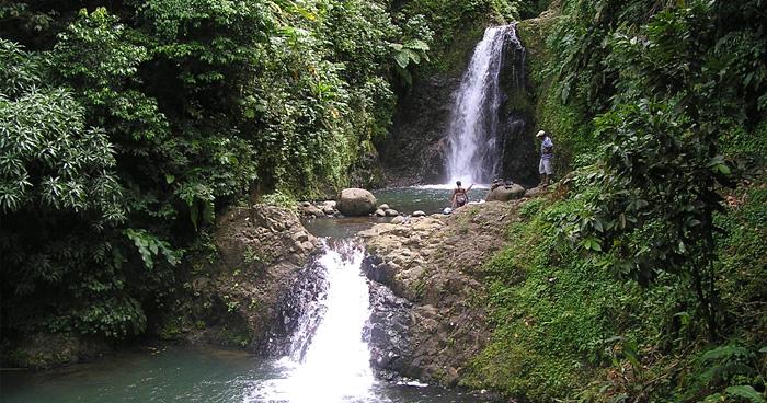 Водопад Семь сестер в Гренаде