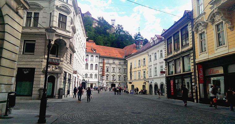 Любляне, Словения
