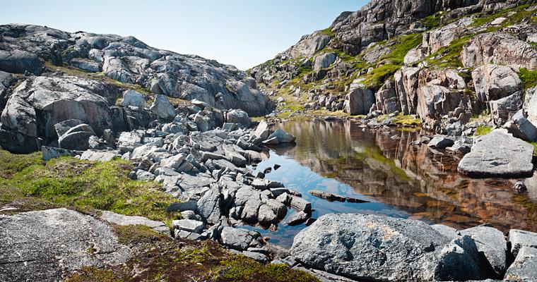 Окрестности Qorqortoq, Гренландия