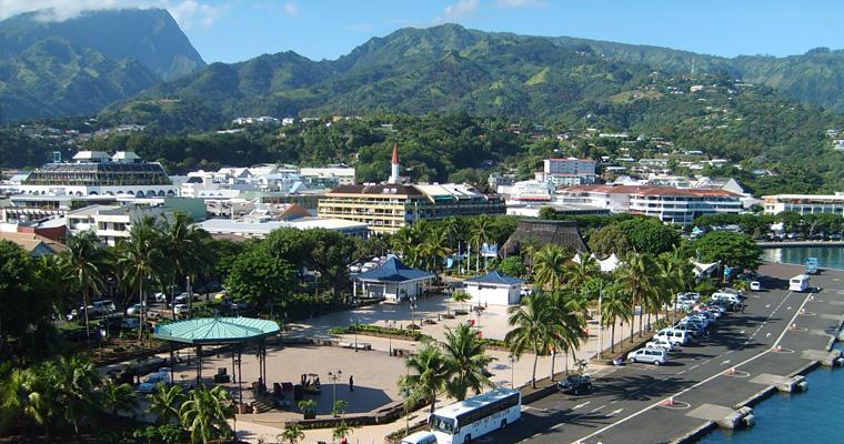 Столица Папеэте, Французская Полинезия