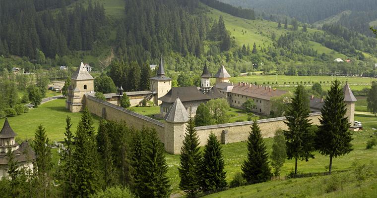 Монастырь Sucevita, Молдавия