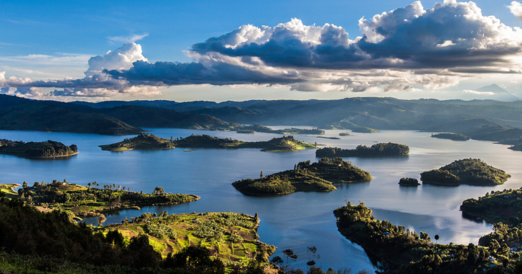 Озеро Bunyonyi, Уганда
