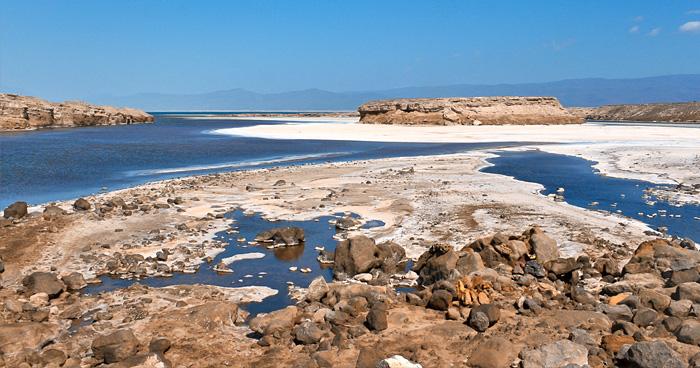 Прибрежные пейзажи Джибути