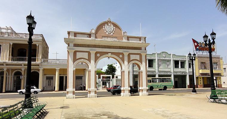 Триумфальная арка, Парк Хосе Марти