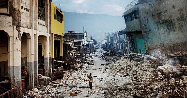 После стихийных бедствий, Гаити