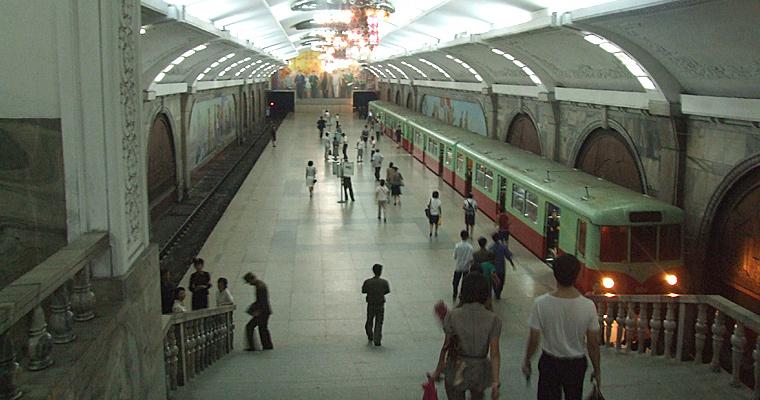 Метро, Пхеньян, Северная Корея
