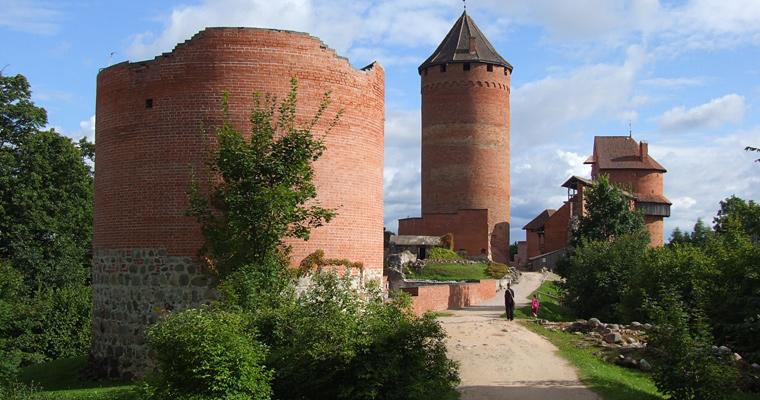 Турайдский замок, Латвия