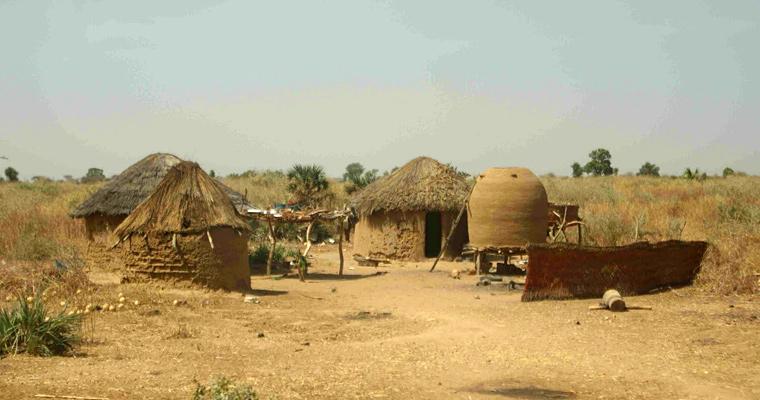 Неизвестная деревня, Чад