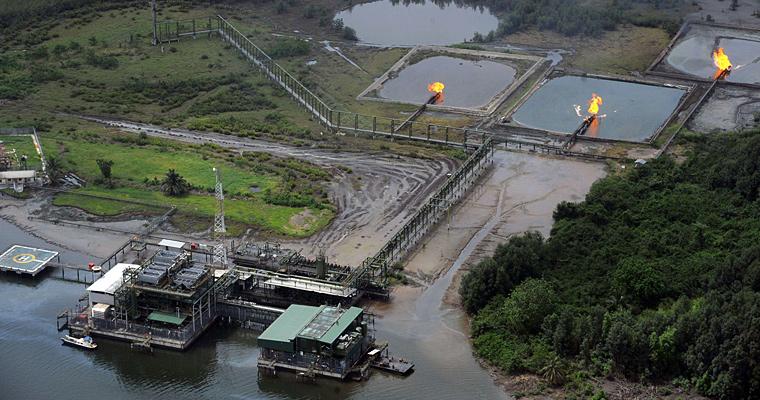 Нефтедобыча, Нигерия