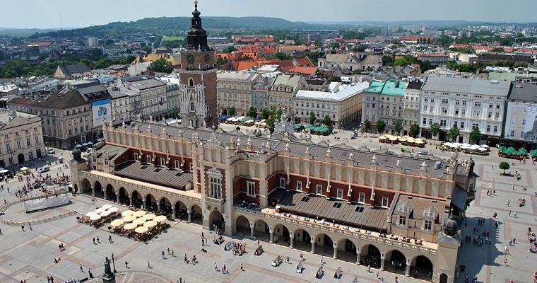 Cloth Hall в Кракове, Польша