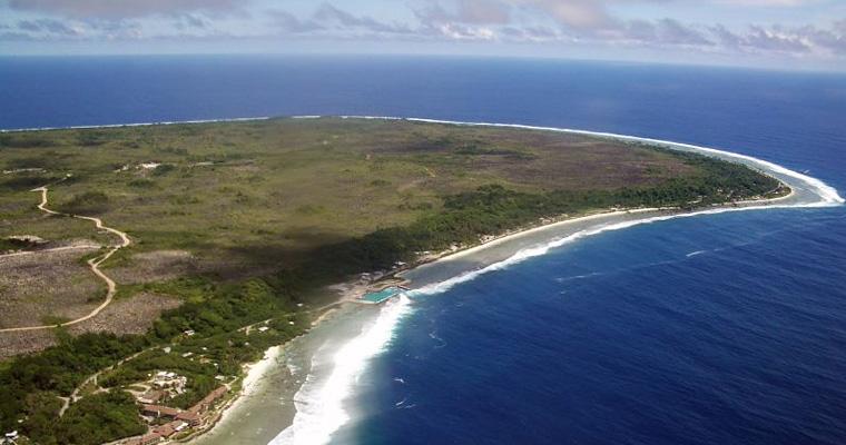 Науру с высоты птичьего полета