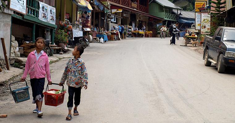 Пакбенг (Pakbeng) – небольшая деревня в Лаосе, на реке Меконг.