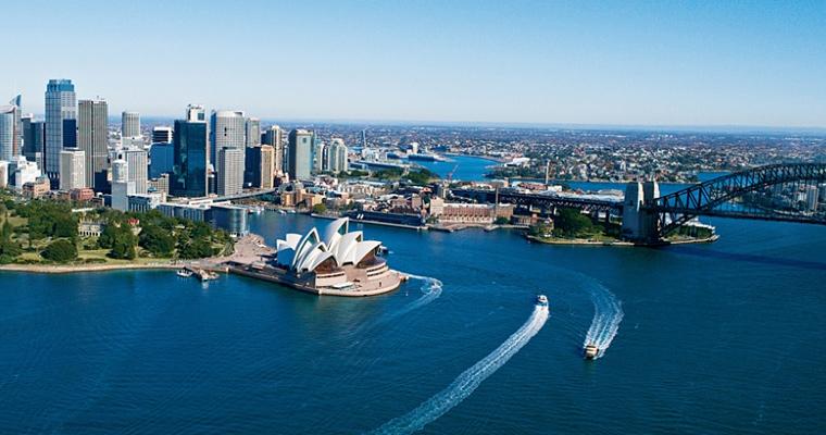 Сиднейский оперный театр, Австралия.