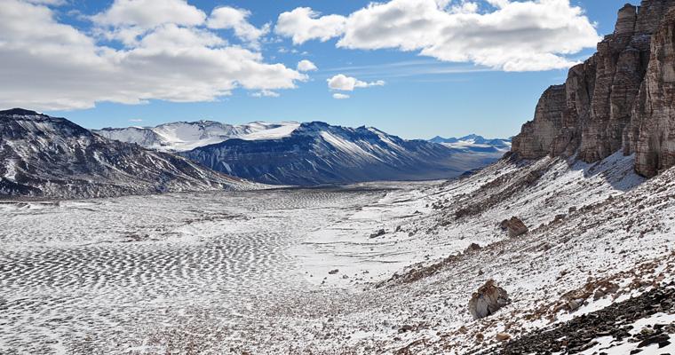 Уолл-Долина, Антарктида