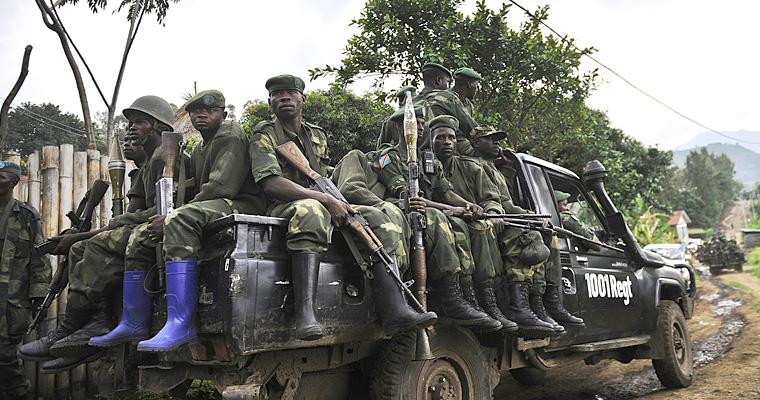 Правительственные войска Конго