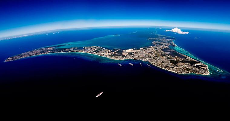 С высоты птичьего полета, Каймановы острова