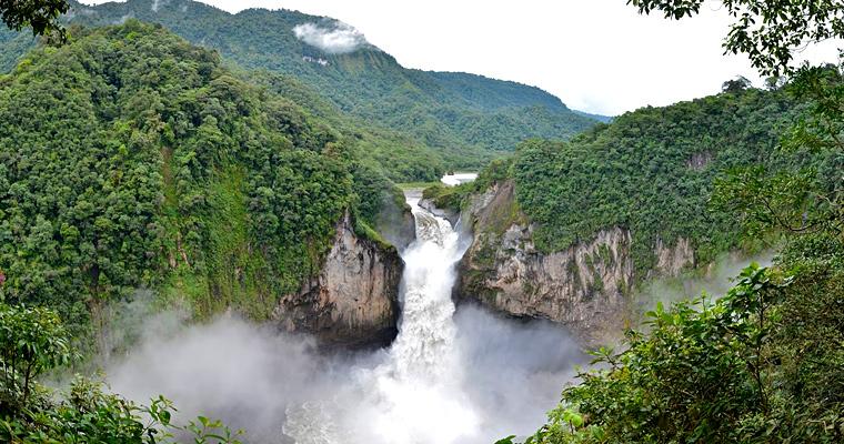 Водопад Сан - Рафаэль, Эквадор