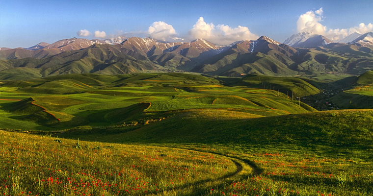 Тянь-Шань, Киргизия