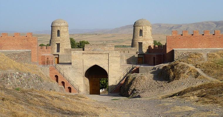 Крепость Гиссар, Таджикистан
