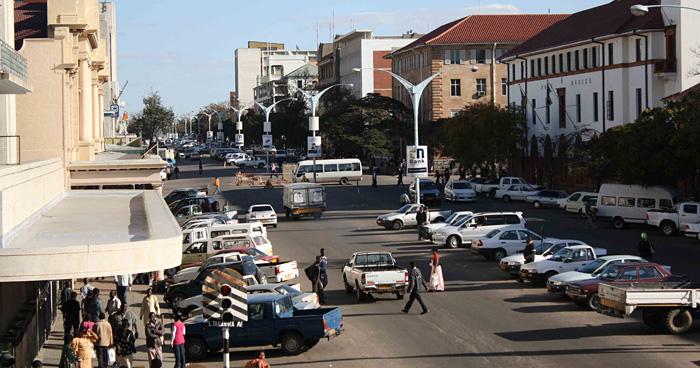 Улица Габорона, Ботсвана