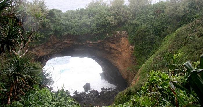 Природная арка Эуа, Тонга