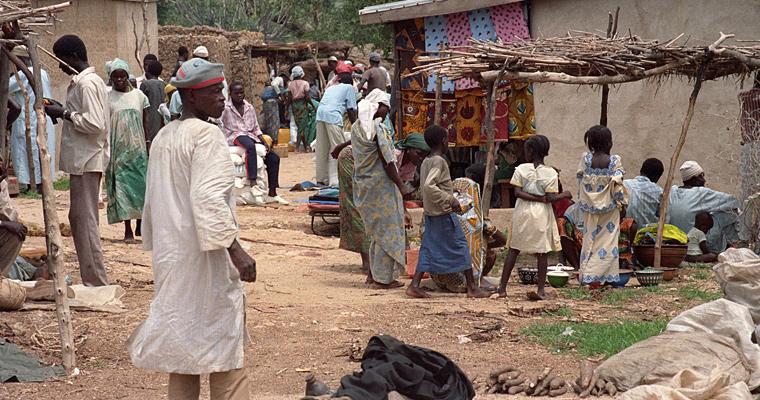 Деревенский рынок, Конго