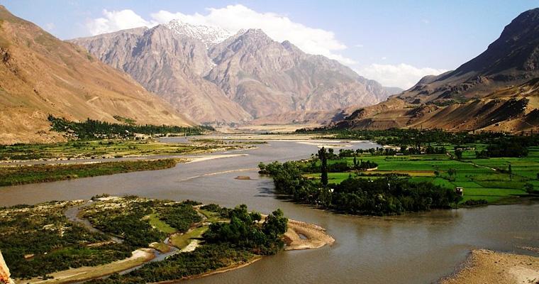 Река Пяндж, Таджикистан