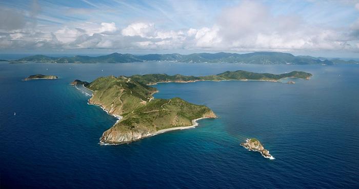 Остров Петровский, Британские Виргинские острова