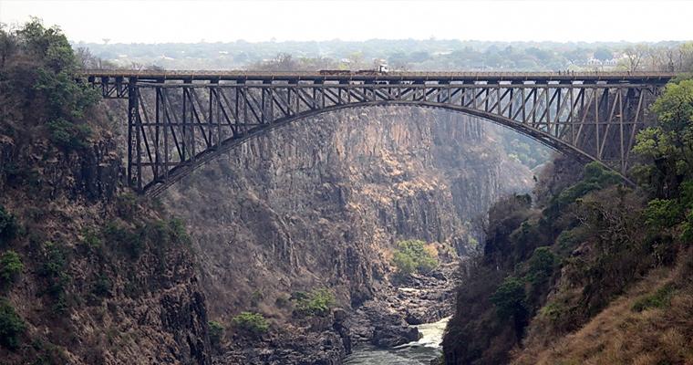 Железнодорожный мост, Замбия