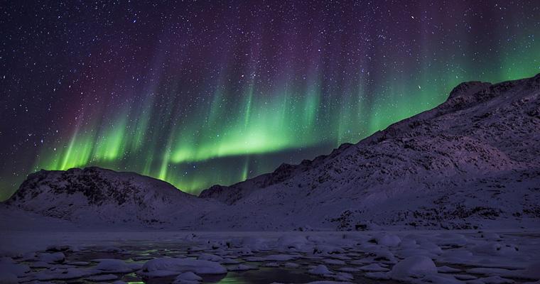 Северное сияние, Гренландия
