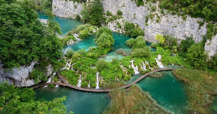 Национальный парк Плитвицкие озера, Словения