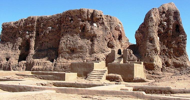 Гигантские руины в Керму, Судан