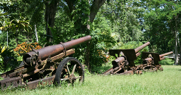 Vilu военный музей, Соломоновы острова