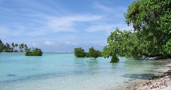 Плавучие острова, Кирибати