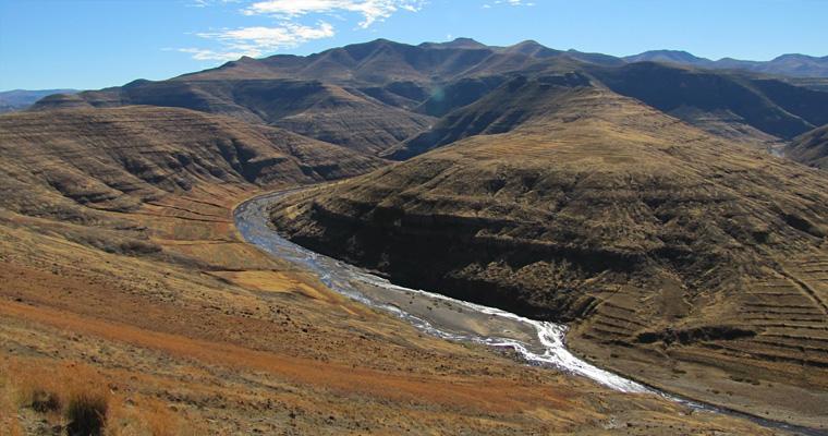 Senqu, Лесото