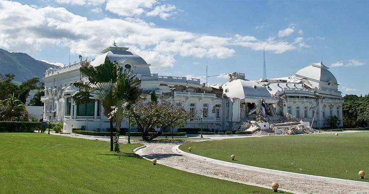 Национальный дворец, Гаити