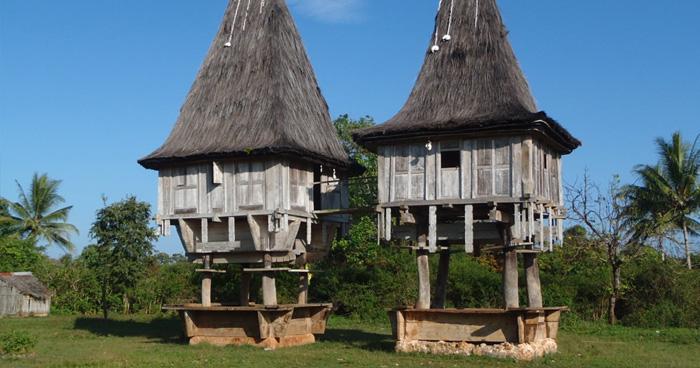 Культовые дома в Восточном Тиморе