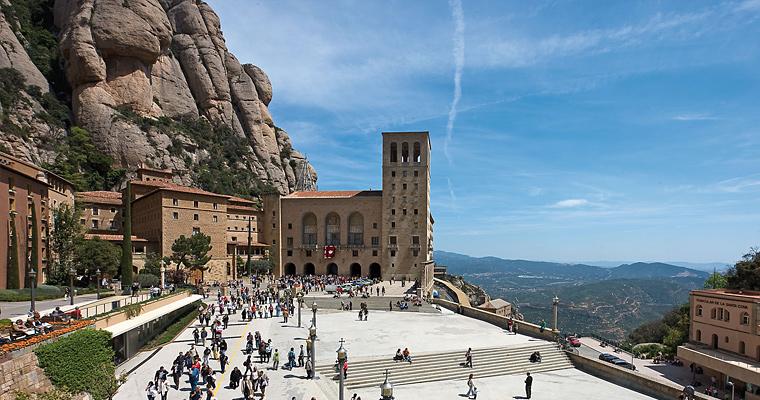 Горы Монтсеррат, Каталония, Испания