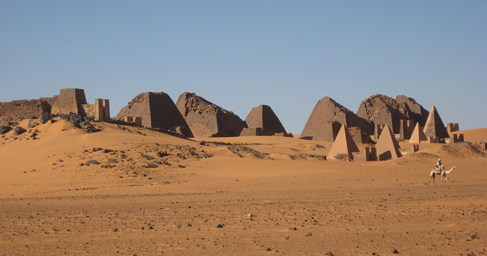 Пирамиды Нубии, Южный Судан