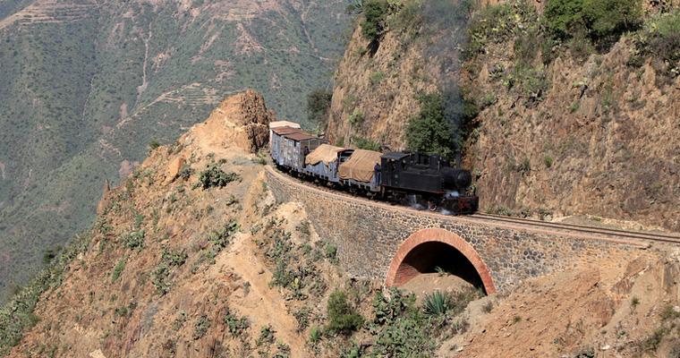 Железная дорога на Эритреи