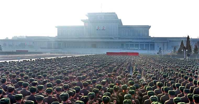 Кымсусанский мемориальный дворец Солнца, Северная Корея