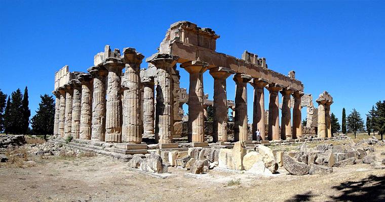 Храм Зевса, Пятиградия, Ливия
